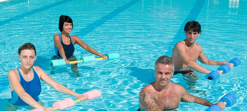 hydrotherapy, pool exercises