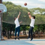 basketball game, jump, sport, ankle, knee, hip